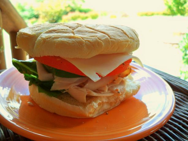 Turkey N' Chives Sandwich. Photo by Lainey6605