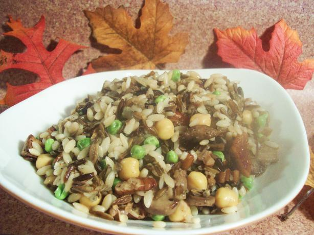 Wild Rice Pilaf With Mushrooms and Pecans. Photo by Sharon123