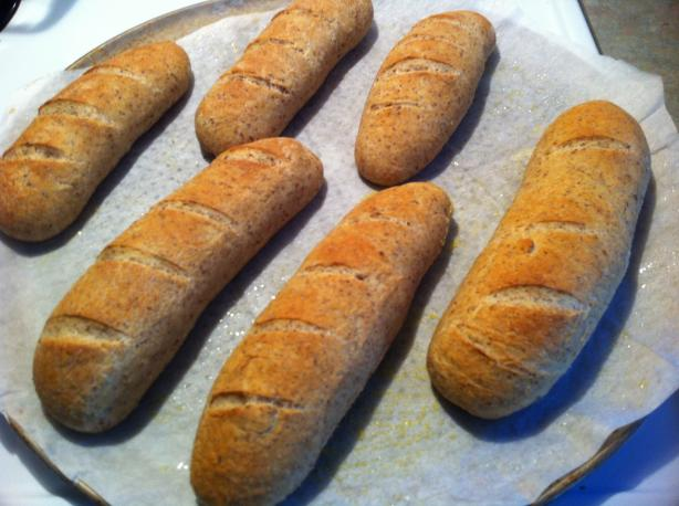 Crusty Whole Wheat Italian Bread. Photo by Just_Ducky!!