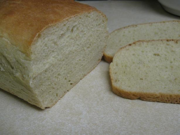 Fluffy White Bread (Bread Machine). Photo by ~Mellie~