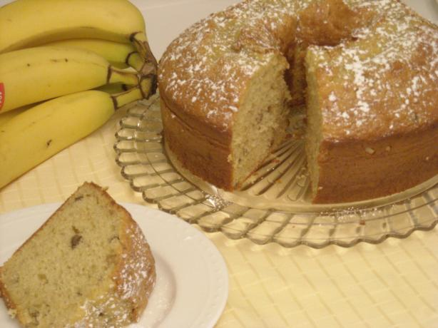 Kay&#39;s Banana Nut Cake. Photo by mums the word