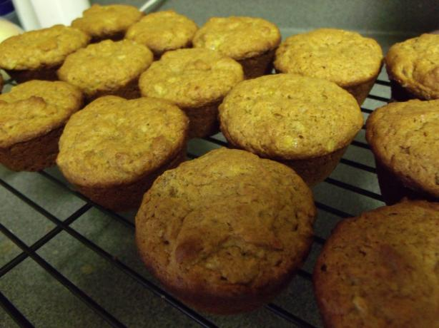 Nif's Peanut Butter Banana Muffins. Photo by NELady