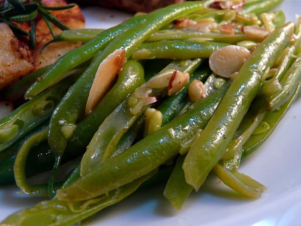 Green Beans Amandine. Photo by PaulaG