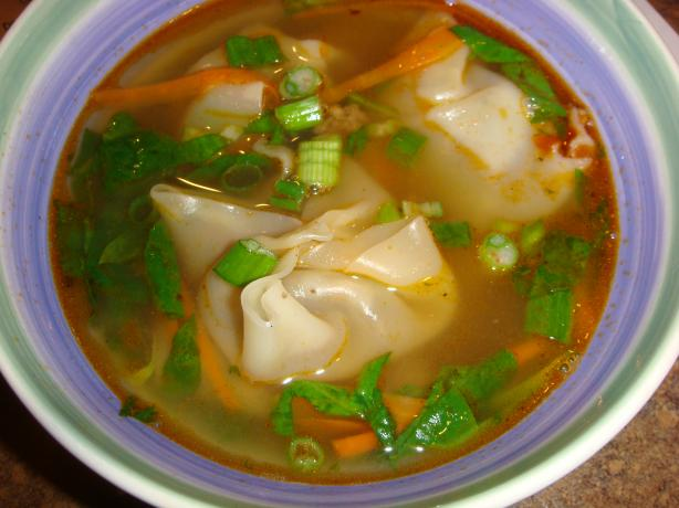 Wonton Soup. Photo by Barenaked Chef