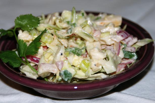 Guy&#39;s Chipotle-Lime Slaw. Photo by appleydapply