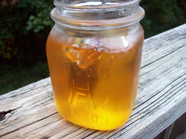 Peach Jelly. Photo by Aunt Paula
