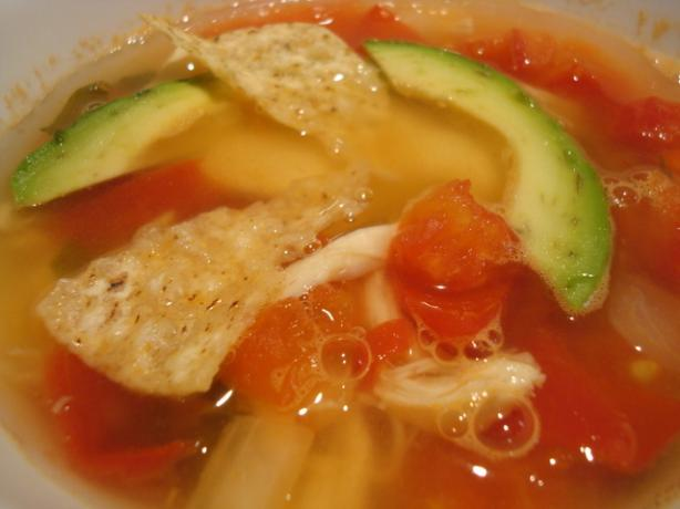 El Torito Chicken-Lime Soup. Photo by Starrynews