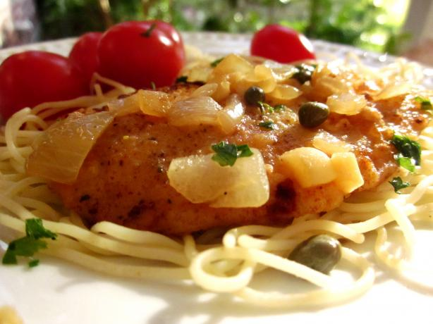 Frugal Gourmet's Chicken Piccata. Photo by gailanng
