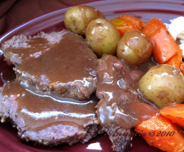 Best-Ever Roast Beef With Vegetables. Photo by Annacia