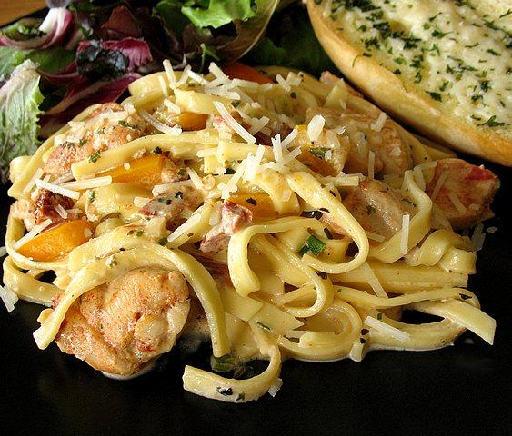 Creamy Cajun Chicken Pasta. Photo by Calee