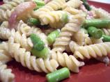 Pasta With Lemon, Asparagus and Cheese