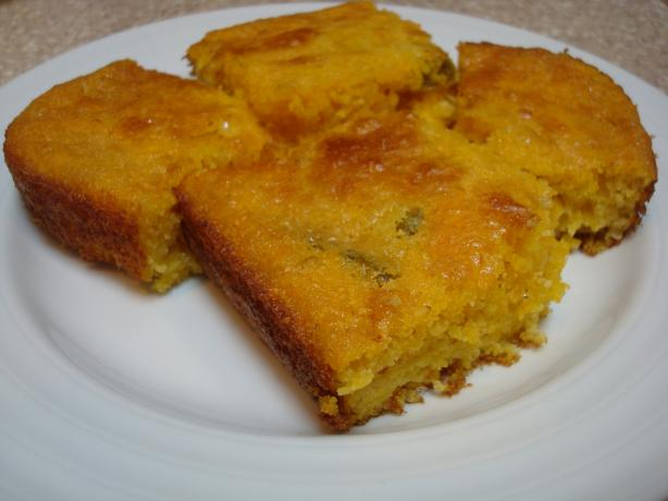 Jalapeno and Cheddar Cornbread. Photo by Starrynews