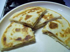 Chicken Bacon Ranch Quesadillas. Photo by Honeym