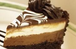 Saucy Food Black Tie Mousse Cake