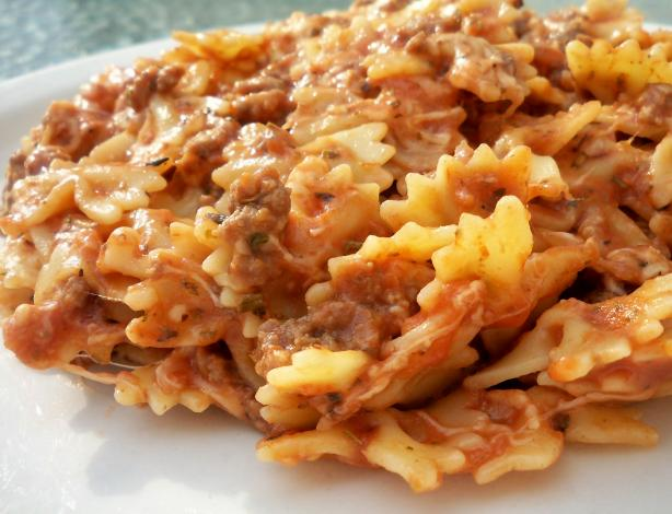 "Mom's Italian ""Hamburger Helper"". Photo by *Parsley*"