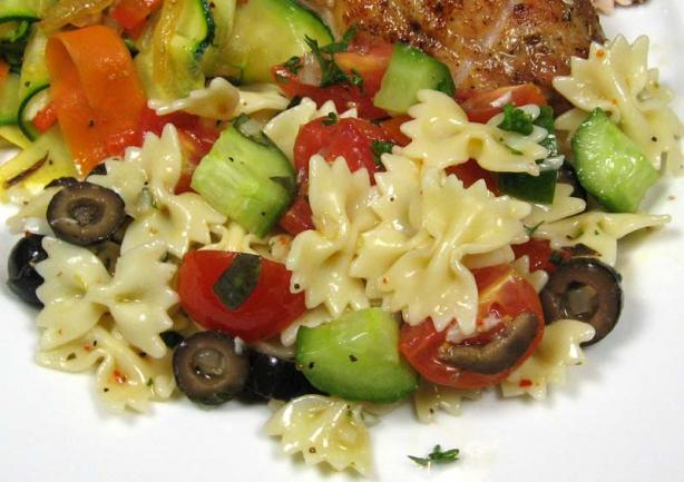 Jamie Oliver's Best Pasta Salad. Photo by dianegrapegrower