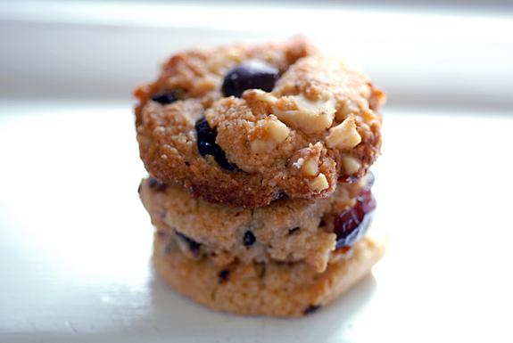 Gluten Free Cranberry Walnut Chocolate Chip Cookies. Photo by Elana's Pantry