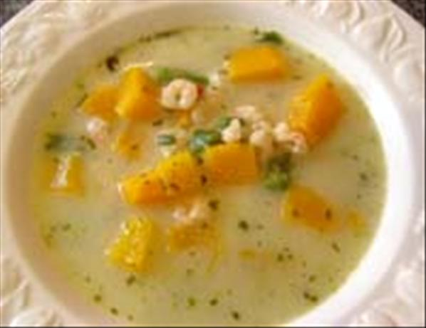 Thai Coconut Pumpkin Soup. Photo by Sackville