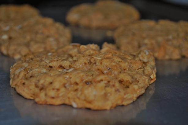 Oatmeal Chocolate Chip Cookies (No Eggs). Photo by jumpsinpuddles