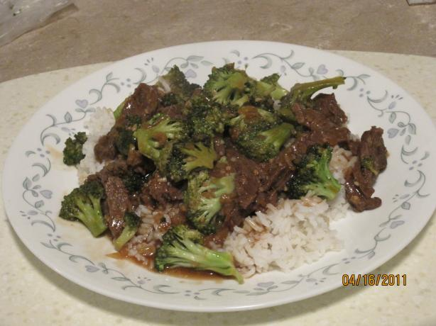 Sassy's Beef and Broccoli. Photo by angeldylanluke