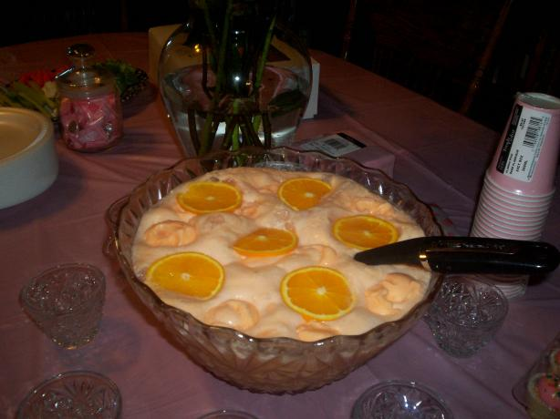 Witch&#39;s Brew Orange Cream Punch. Photo by Chef Flo in SeMo