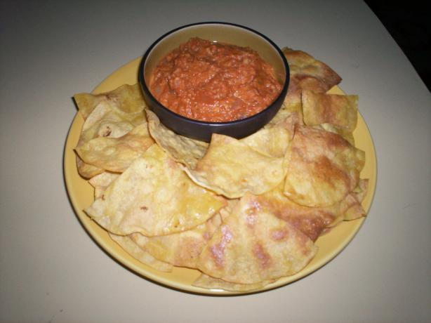 Homemade Corn Tortilla Chips, Easy Cheap Mexican Snack Food. Photo by Debbwl