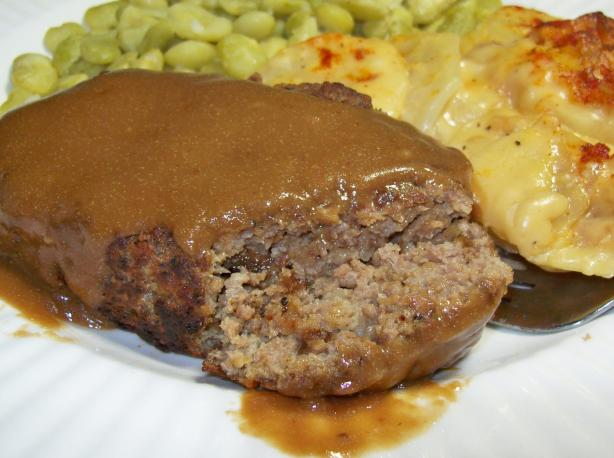 Salisbury Steak for 2. Photo by Chef shapeweaver &copy;