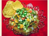 Roasted Garlic Green Tomato Salsa