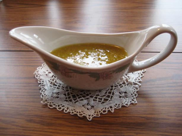 Apple Cider Vinegar and Honey Vinaigrette Dressing. Photo by Don DeVeau