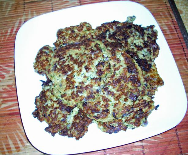 Vegan Zucchini and Potato Latkes. Photo by Chef Joey Z.