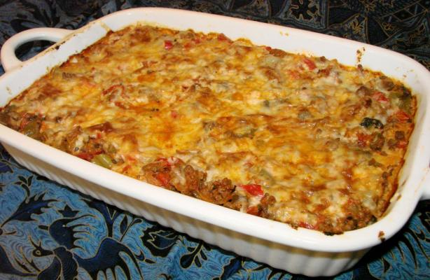 Inside out Stuffed Pepper Casserole. Photo by Boomette
