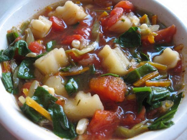 Spicy Vegetable Soup. Photo by FloridaNative