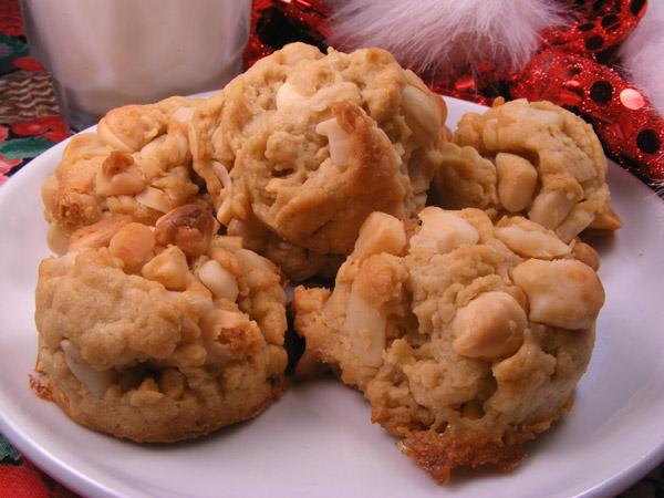 White Chocolate and Macadamia Cookies. Photo by Lavender Lynn