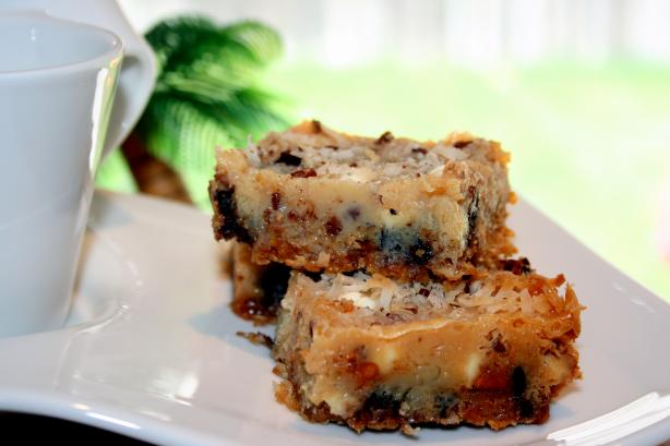 Magic Cookie Bars or Seven Layer Cookies. Photo by **Tinkerbell**