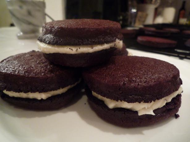 Homemade Oreos - Flour Bakery + Cafe. Photo by laylap