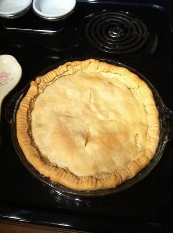 Super Fast Chicken Pot Pie. Photo by Jennelle.Hutson