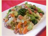 Frankfurter Vegetable Stir-fry