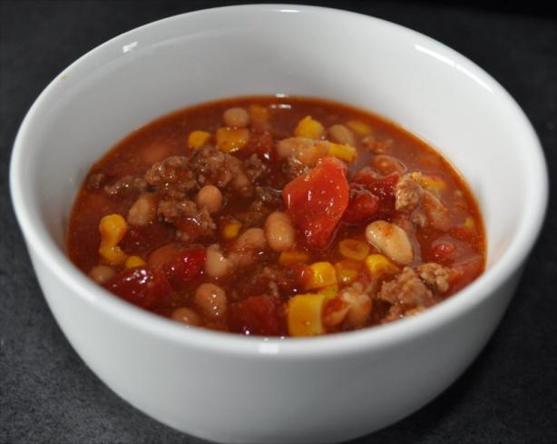 Crock Pot Taco Soup. Photo by kamisu