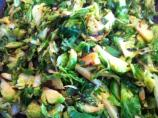 Shredded Brussels Sprouts & Scallions (Gourmet)