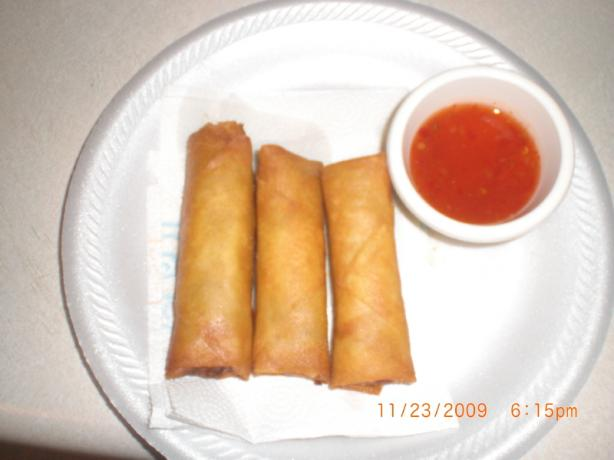 Filipino Egg Rolls. Photo by Pumpkin Pie's Mommy