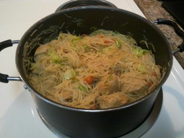 Filipino Pancit. Photo by Pumpkin Pie's Mommy