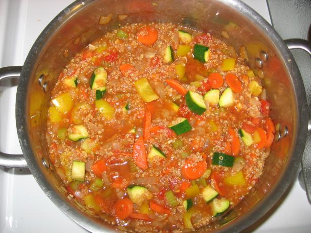 Peruvian Quinoa Stew....(Vegan/Vegetarian). Photo by temopo