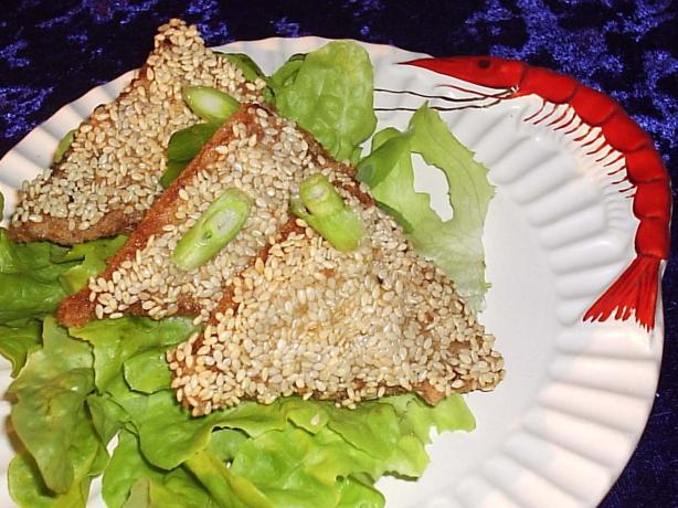Sesame Prawn Toast. Photo by Fairy Nuff