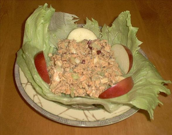 Salmon Waldorf Salad. Photo by *Pixie*