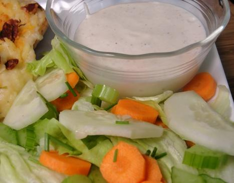 The Realtor&#39;s Parmesan Salad Dressing. Photo by diner524