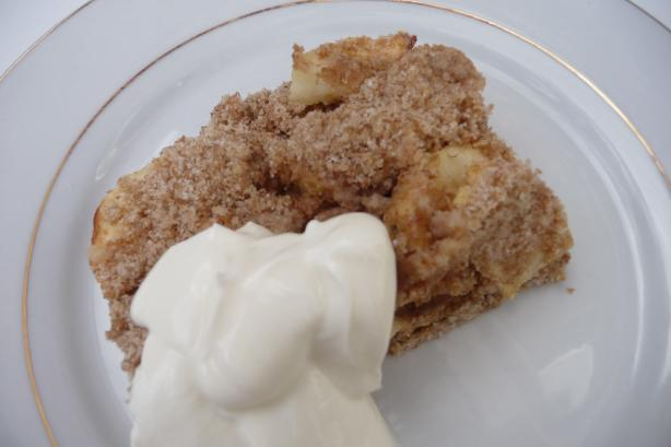 Mom's Apple Cake. Photo by Tea Jenny