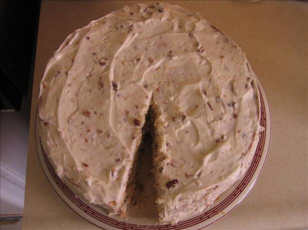 Butter Pecan Cake. Photo by The Real Cake Baker