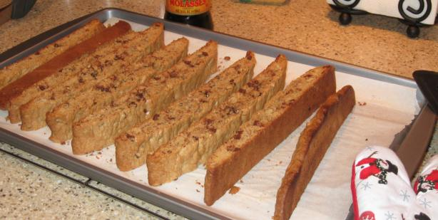 Cinnamon Mocha Biscotti. Photo by Lots of TLC