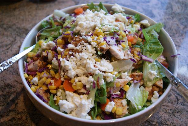 Chicken Cranberry Pecan Salad. Photo by CaliforniaJan