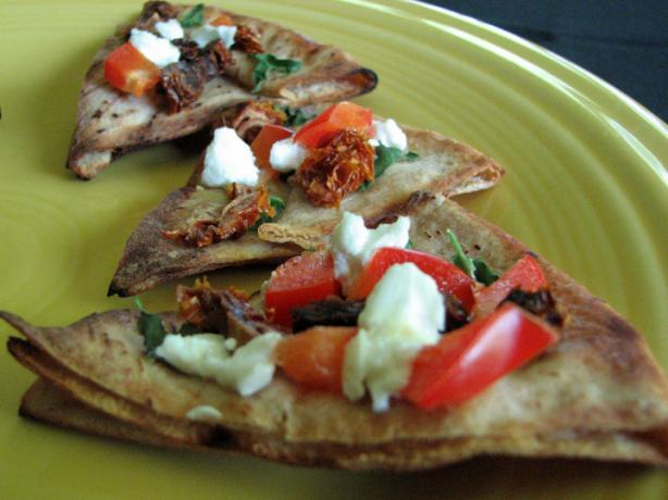 Sun-Dried Tomato Bruschetta with Goat Cheese. Photo by Brooke the Cook in WI